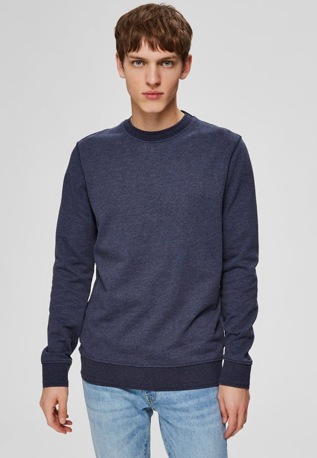 SWEATSHIRT REGULAR FIT - Sudadera - maritime blue