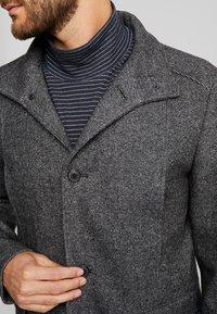 Selected Homme - SLHMOSTO - Classic coat - beluga/salt/pepper - 4