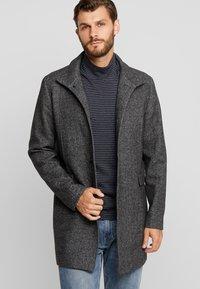 Selected Homme - SLHMOSTO - Classic coat - beluga/salt/pepper - 0