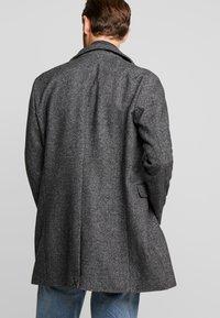 Selected Homme - SLHMOSTO - Classic coat - beluga/salt/pepper - 2