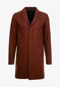 Selected Homme - SLHBROVE COAT  - Krátký kabát - caramel café - 4