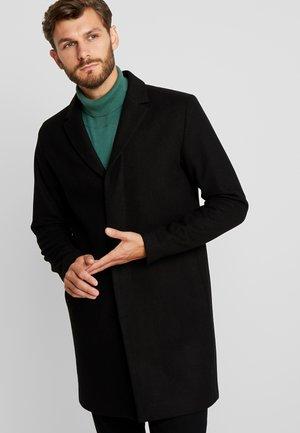 SLHBROVE COAT  - Krátký kabát - black