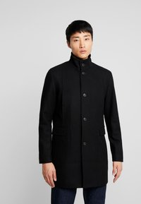 Selected Homme - SLHMOSTO COAT - Classic coat - black - 0