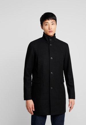 SLHMOSTO COAT - Abrigo - black