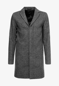 Selected Homme - SLHBROVE COAT - Abrigo - beluga/salt/pepper - 3