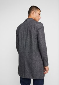 Selected Homme - SLHBROVE COAT - Abrigo - beluga/salt/pepper - 2