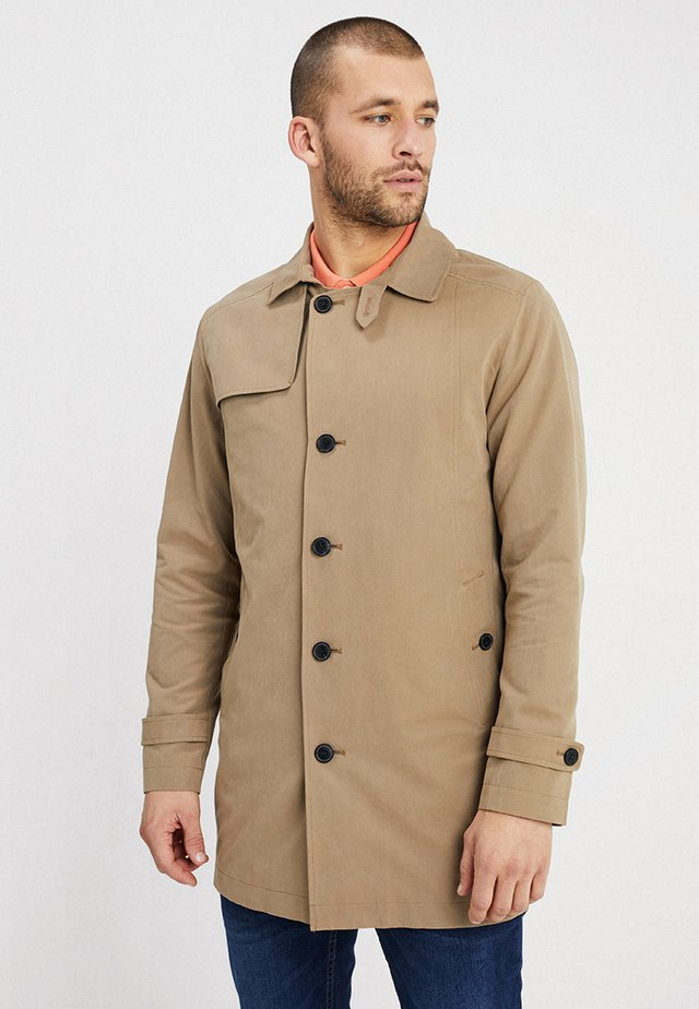 SLHTIMES - Trenchcoat - sepia tint