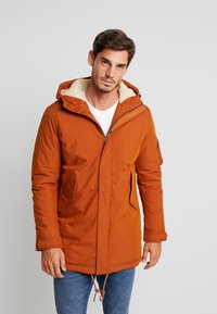 Selected Homme - SLHDAVID - Winter coat - caramel café - 0