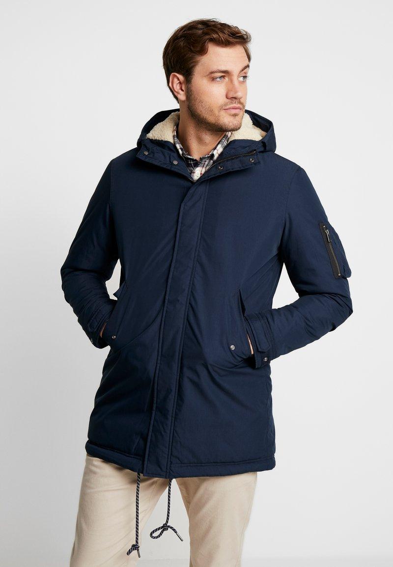 Selected Homme - SLHDAVID - Zimní kabát - dark sapphire