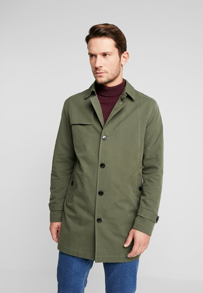 Selected Homme - SLHTIMES COAT  - Trenchcoat - forest night