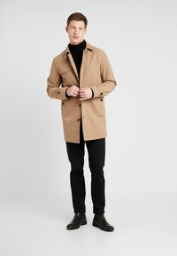 Selected Homme - SLHTIMES COAT  - Trenchcoat - sepia tint - 1