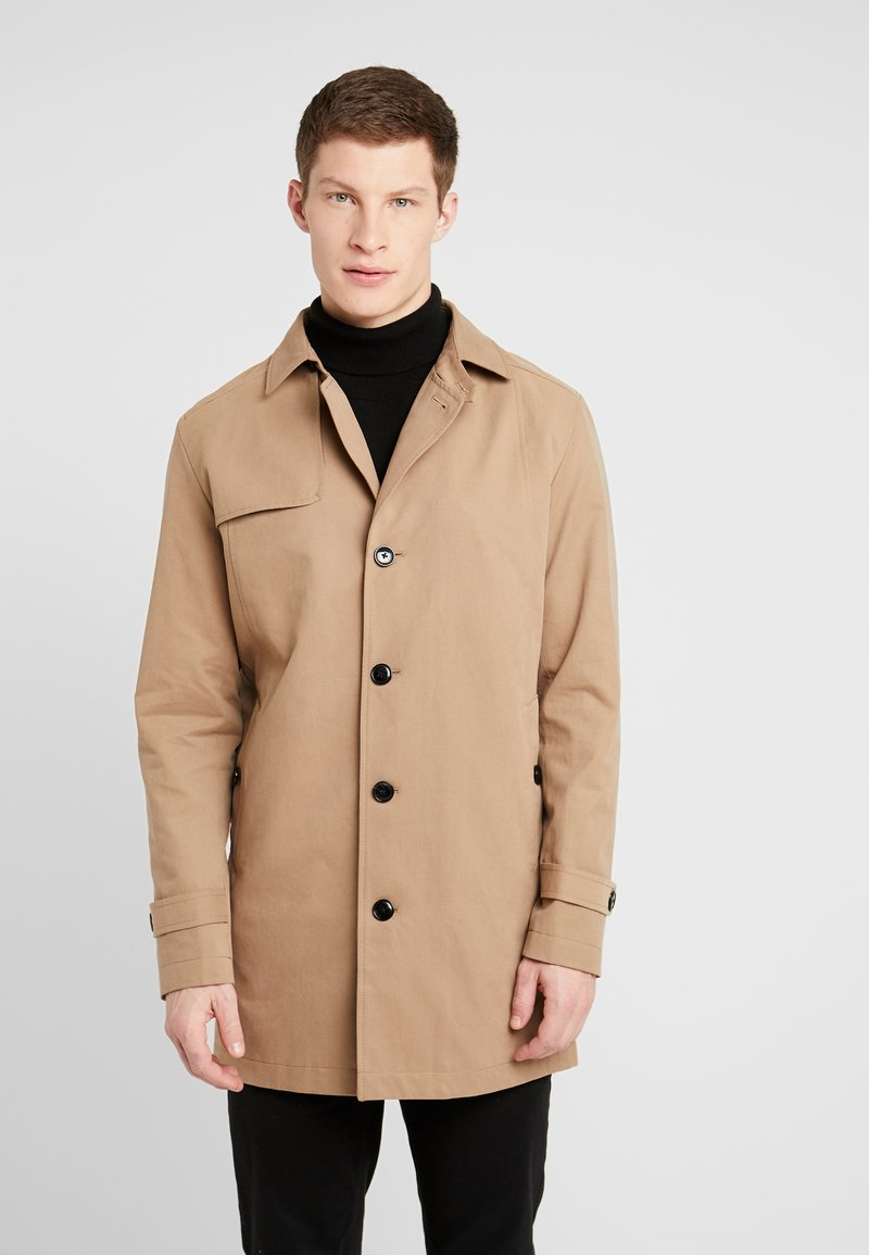 Selected Homme - SLHTIMES COAT  - Trenchcoat - sepia tint