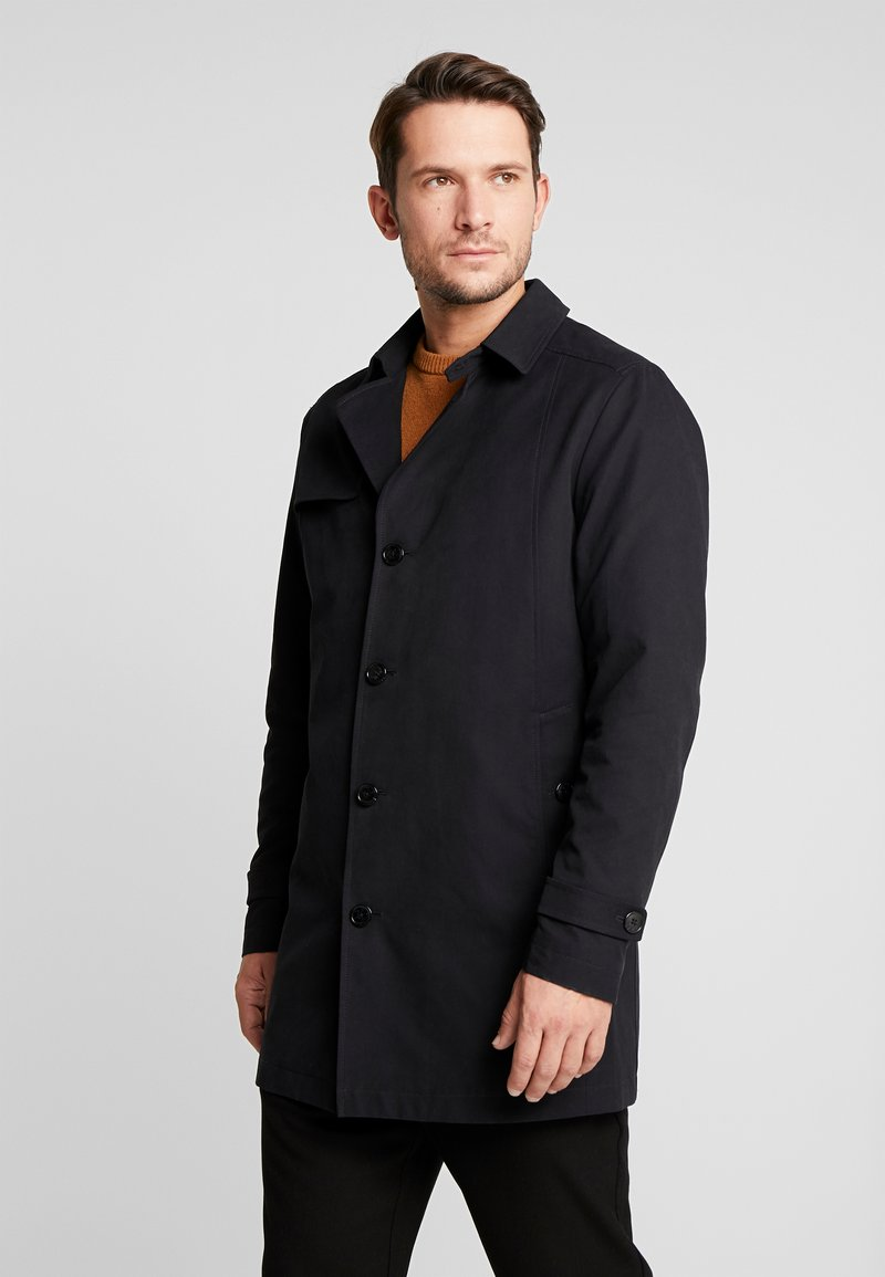 Selected Homme - SLHTIMES COAT  - Trenchcoat - black