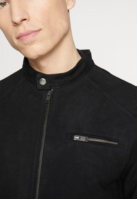 Selected Homme - CLASSIC JACKET  - Skinnjacka - black - 4