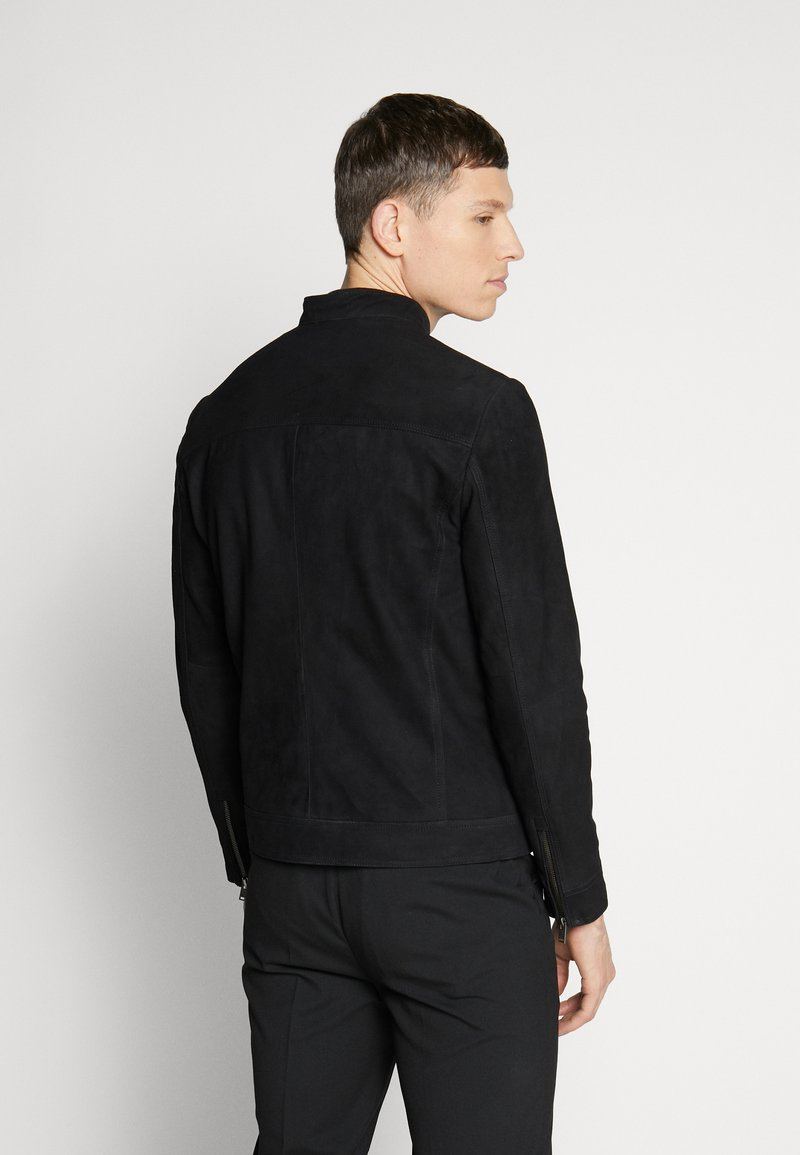 Selected Homme - CLASSIC JACKET  - Skinnjacka - black