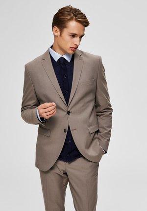 blazer - light brown
