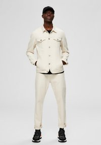 Selected Homme - Kurtka jeansowa - white denim - 1