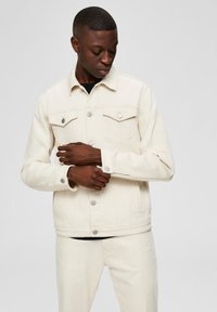 Selected Homme - Kurtka jeansowa - white denim - 0