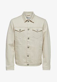 Selected Homme - Kurtka jeansowa - white denim - 5