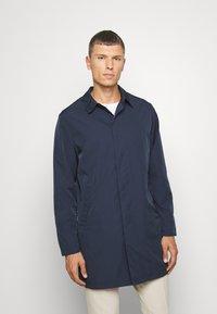 Selected Homme - SLHFELIX COAT - Cappotto corto - navy blazer - 0