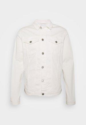 SLHJEPPE - Denim jacket - white denim