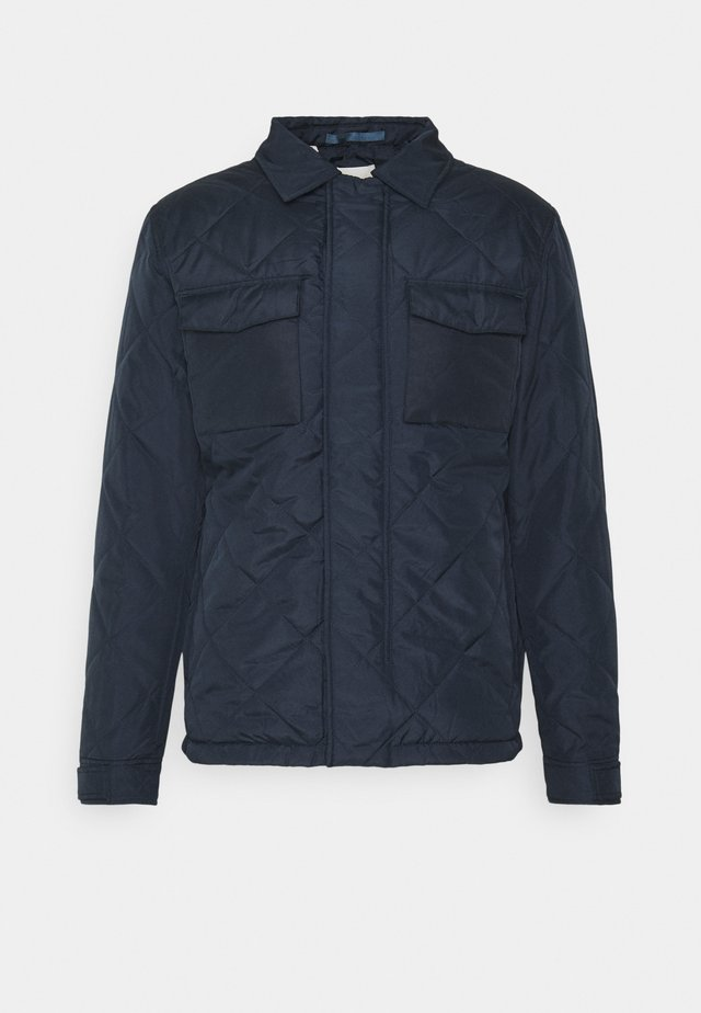 SLHARVEY QUILTED - Jas - sky captain