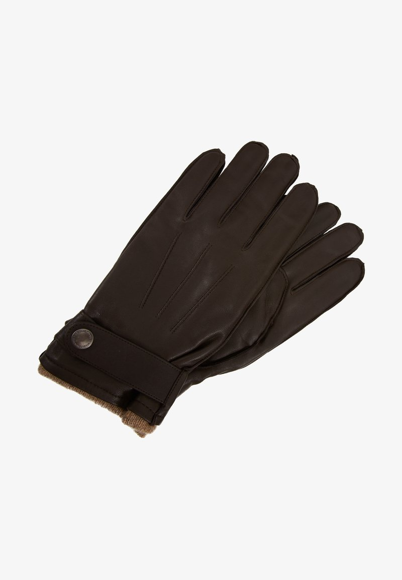 Selected Homme - SLHTIM GLOVE - Gloves - demitasse