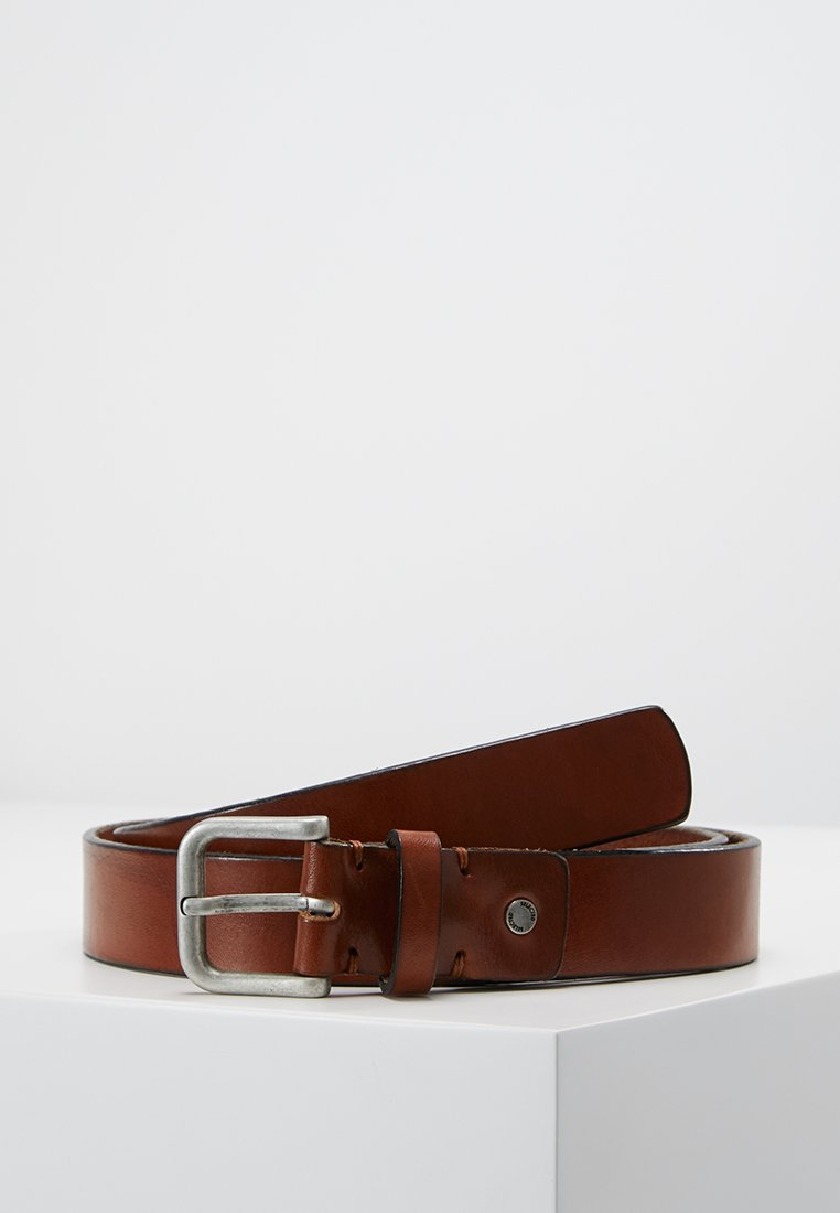 Selected Homme - SLHBASIC BELT - Belt - cognac