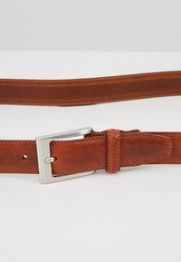 Selected Homme - SLHFILLIP FORMAL BELT - Pasek - cognac - 4