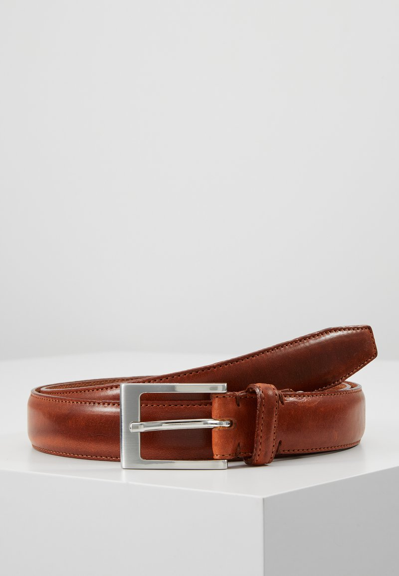 Selected Homme - SLHFILLIP FORMAL BELT - Pasek - cognac