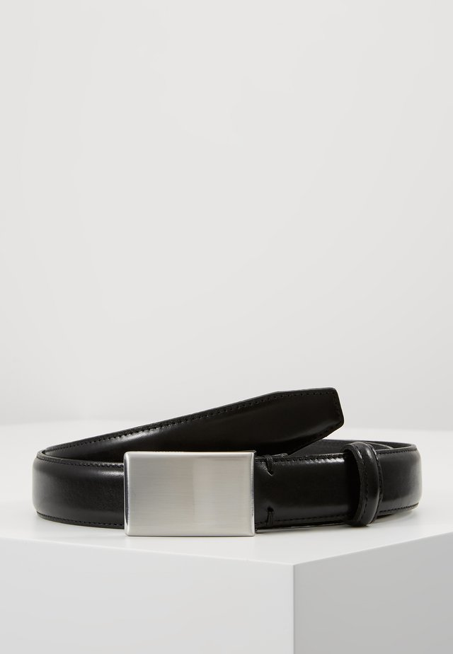 SLHFILLIP FORMAL PLATE BELT - Belt - black