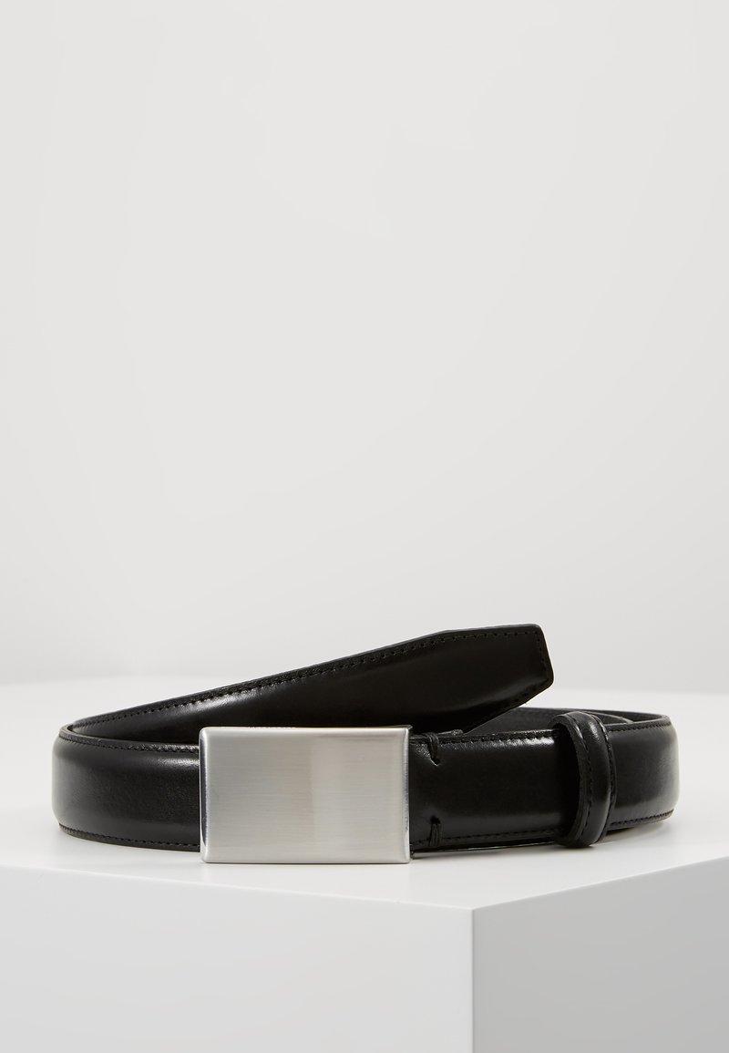 Selected Homme - SLHFILLIP FORMAL PLATE BELT - Pasek - black
