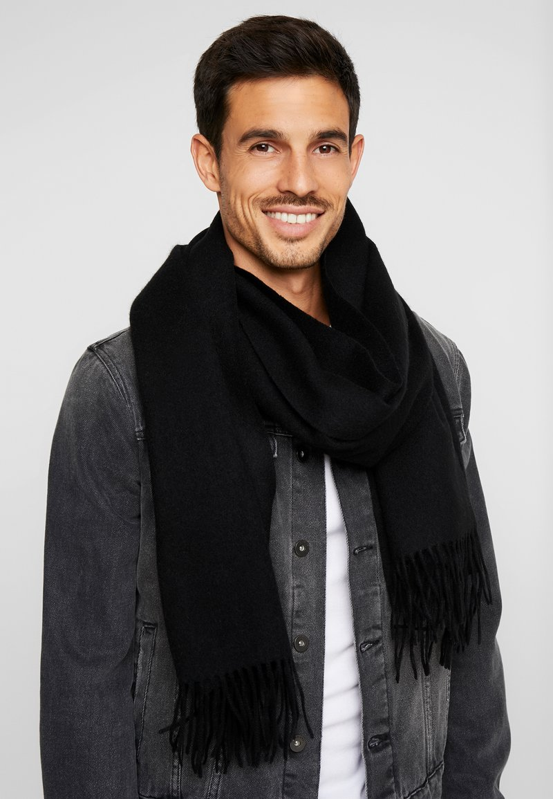 Selected Homme - SLHTIME SCARF  - Écharpe - black