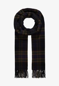 Selected Homme - SLHTIME SCARF CHECK  - Huivi - black - 1