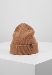 Selected Homme - SLHNEWWOOL BEANIE - Bonnet - camel - 0