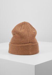 Selected Homme - SLHNEWWOOL BEANIE - Bonnet - camel - 2