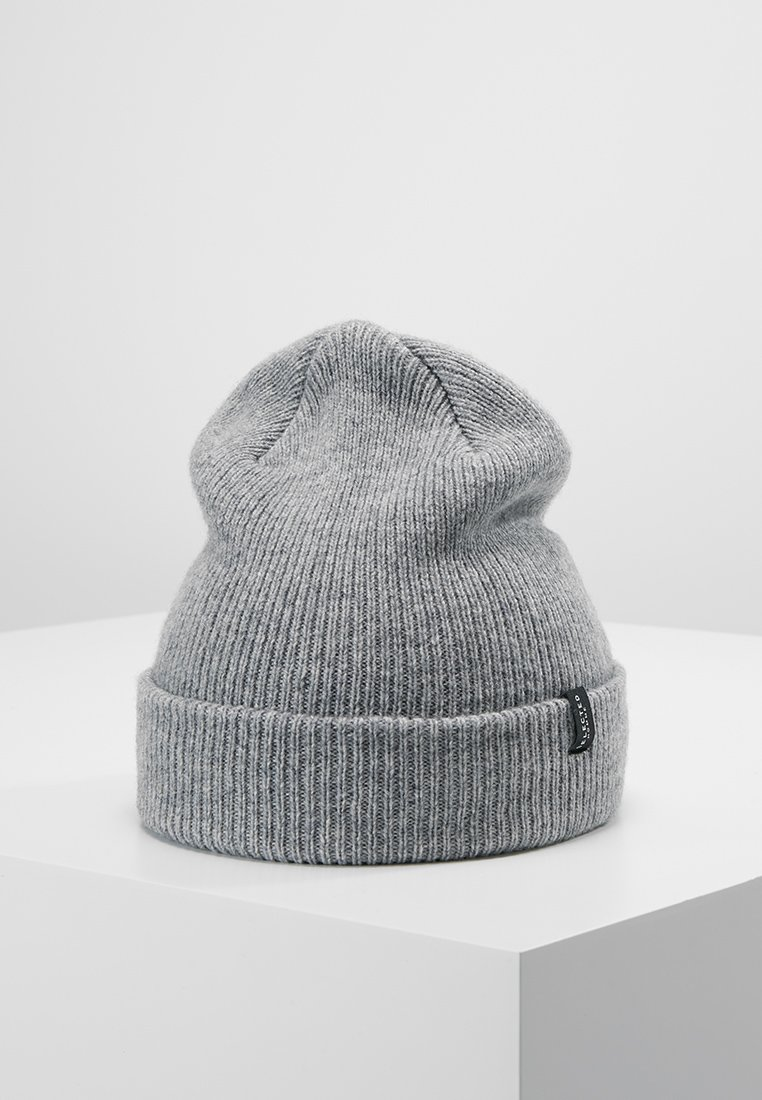 Selected Homme - SLHNEWWOOL BEANIE - Mütze - light grey melange