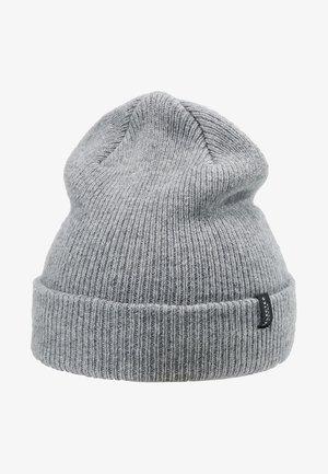 SLHNEWWOOL BEANIE - Čepice - light grey melange