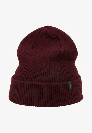 SLHNEWWOOL BEANIE - Mütze - burgundy