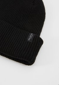 Selected Homme - SLHNEWWOOL BEANIE - Berretto - black - 4
