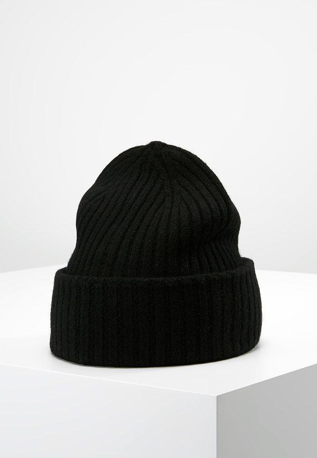 SLHMERINO BEANIE - Mütze - black