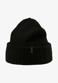 Selected Homme - SLHMERINO BEANIE - Lue - black - 3