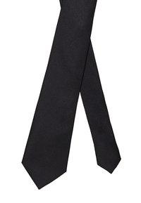 Selected Homme - SLHNEW PLAIN TIE - Cravatta - black - 2