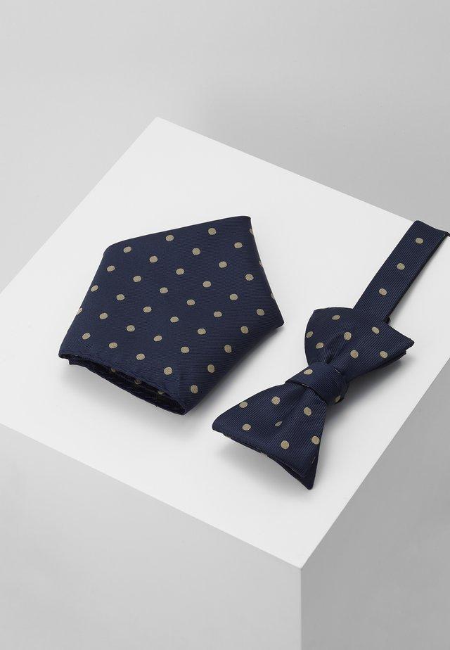 SLHMICO BOWTIE BOX SET - Krawatte - dark navy/comb