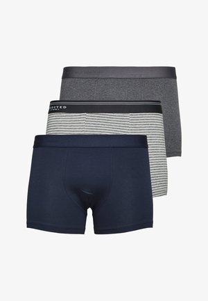 3 PACK - Shorty - light grey melange
