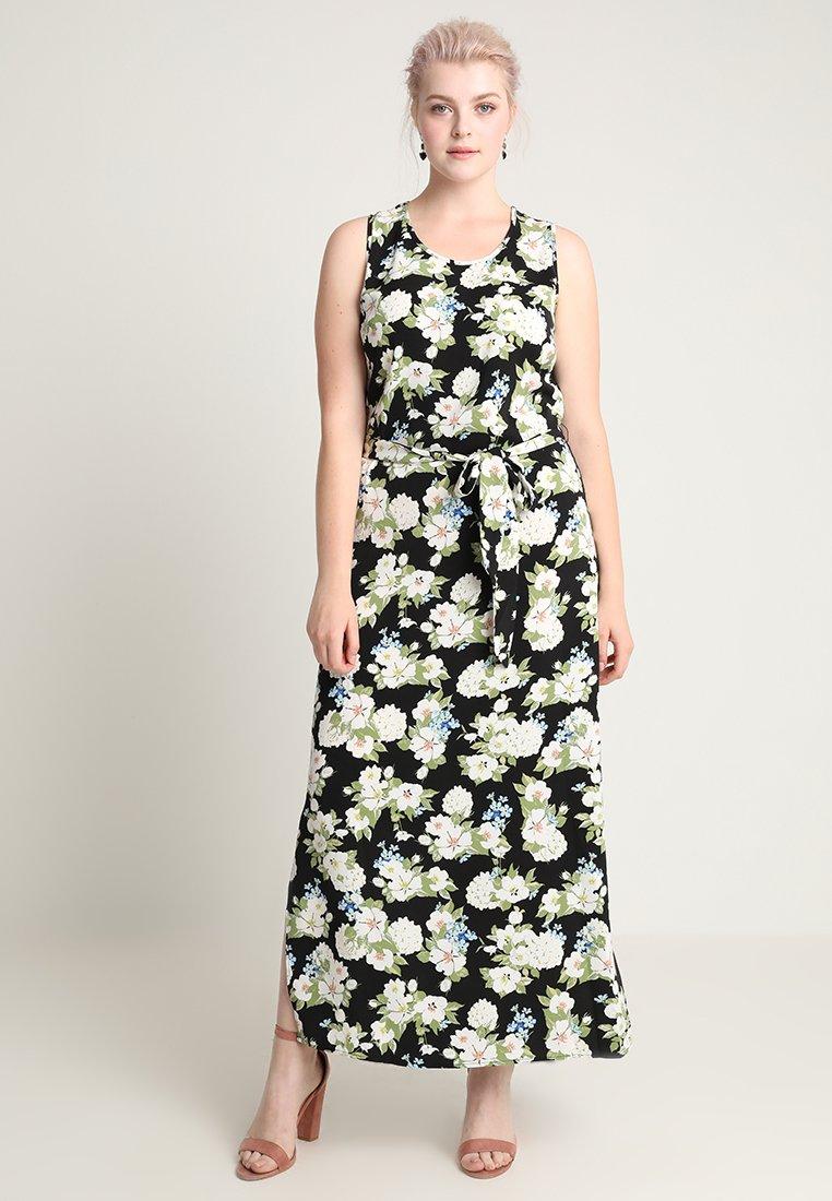Second Script Curve - Maxi šaty - květinové