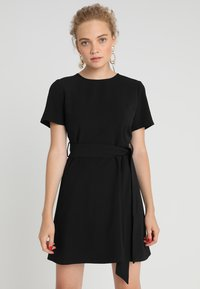 Second Script Petite - SLOANE DRESS - Sukienka letnia - black - 0