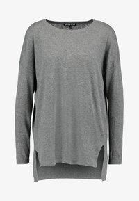 Second Script Petite - Sweter - pale grey marl - 4