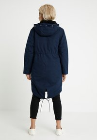 Second Script Petite - PERLA HOODED COAT - Parka - navy - 3