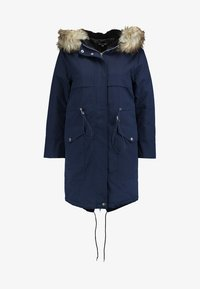 Second Script Petite - PERLA HOODED COAT - Parka - navy - 4